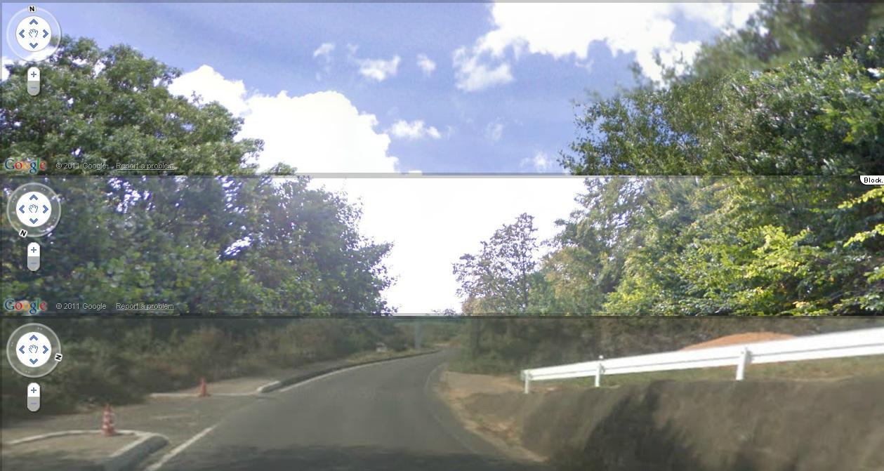 Street View мозаика