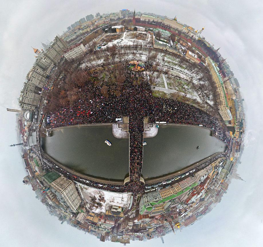 Митинг в Москве против фальсификации выборов